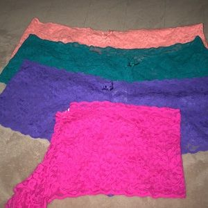 Other - 4 Pairs cotton/lace panties